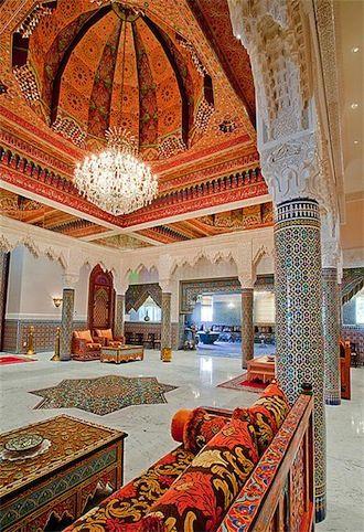 Moroccan dreams in texas decoracion marroqui - Decoracion arabe interiores ...