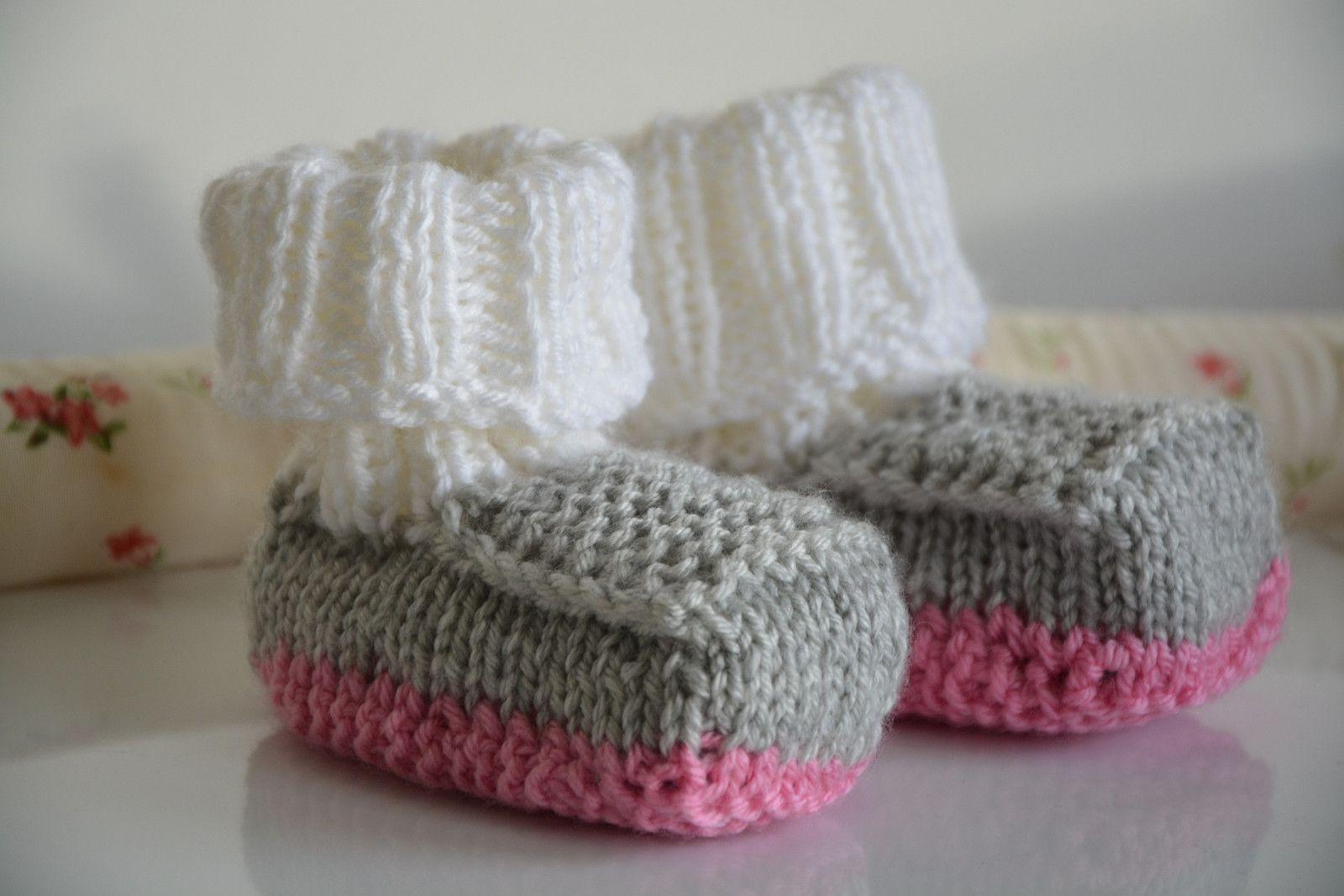 17f7b8c5cf2 Pletené+botičky-růžové+Upletla+jsem+pro+Vás+botičky pro+holčičky+