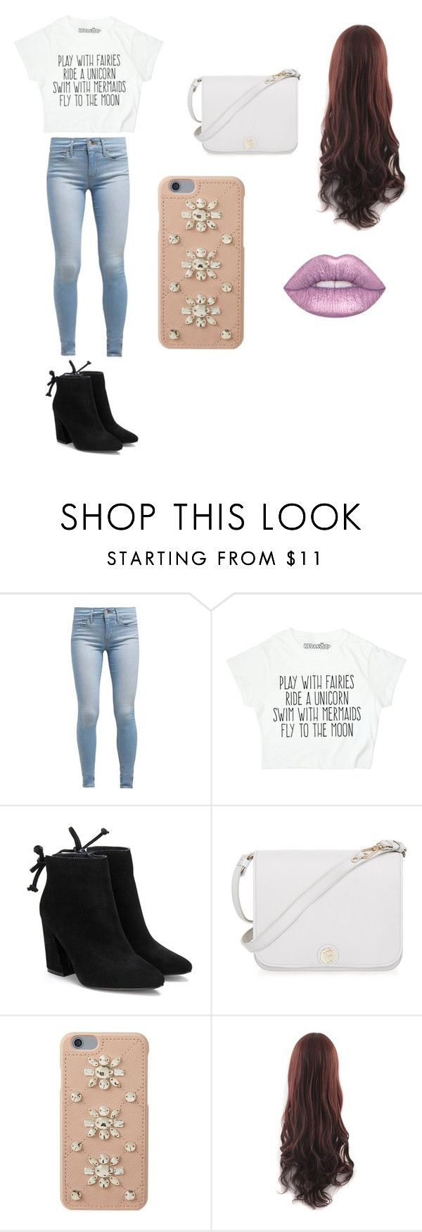 """""""tucu"""" by paun-claudia ❤ liked on Polyvore featuring Levi's, Furla and MICHAEL Michael Kors"""