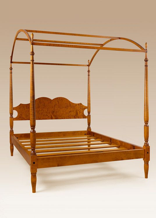 Historical Knox Arched Canopy Bed. This would look great in a antique style home. & Historical Knox Arched Canopy Bed. This would look great in a ...