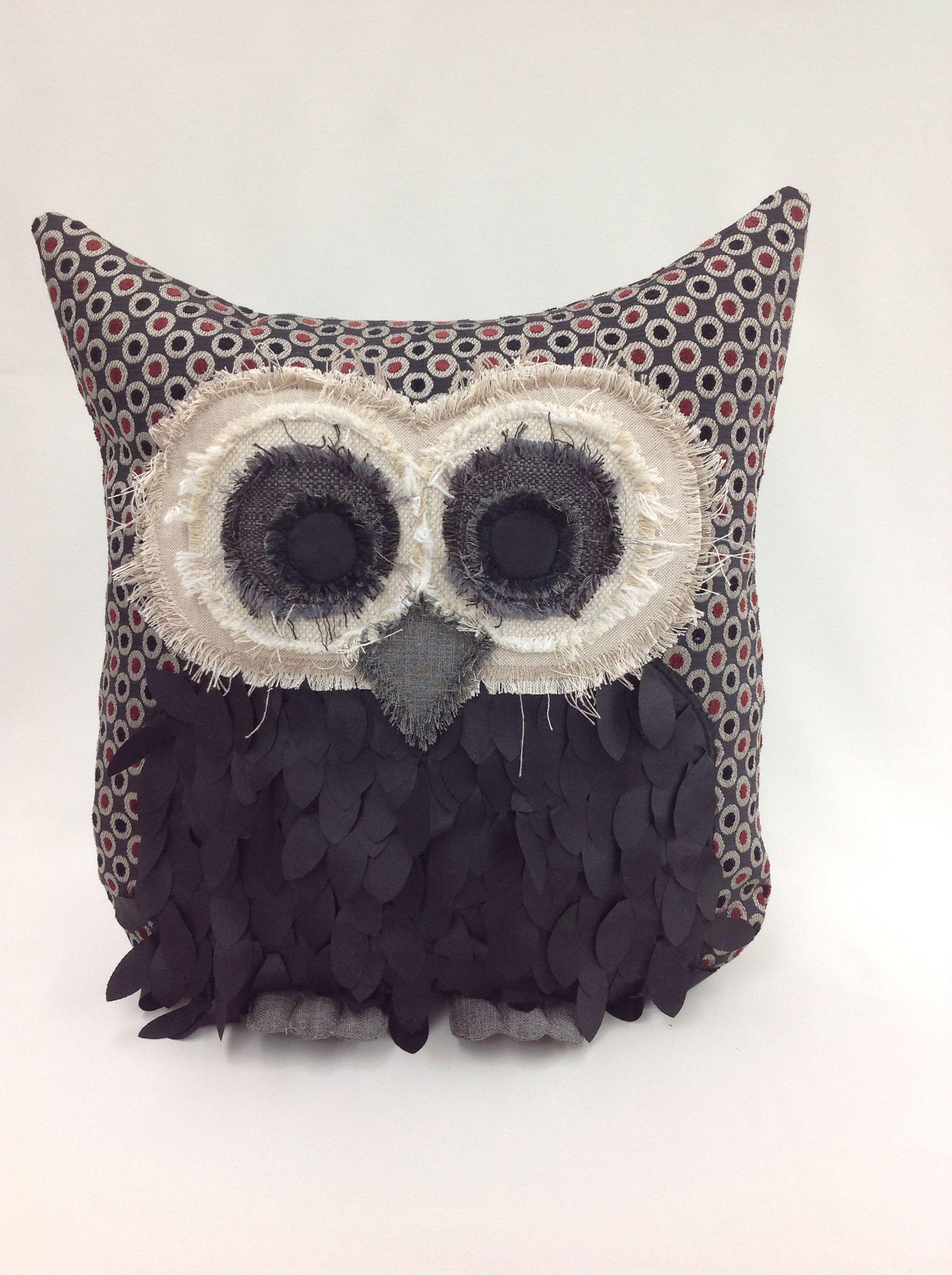 Owl Pillow Cr Ation De Janie St Pierre Pour Ambiance Daujourdhui