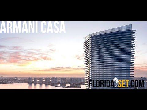 Armani Casa 54 Story Development Located in Sunny Isles Beach - Visual Walk through & Prices - YouTube