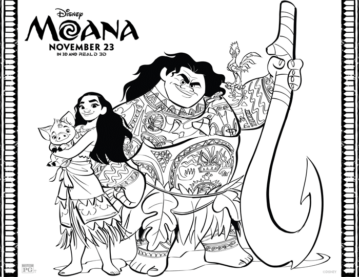 Moana And Maui Coloring Printables Sheets Moana Coloring Moana Coloring Sheets Disney Coloring Pages