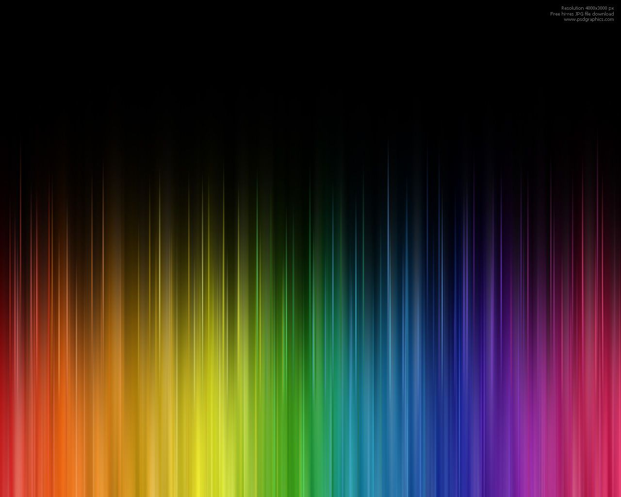 The Color Of My Tears Rainbow Abstract Colorful Backgrounds
