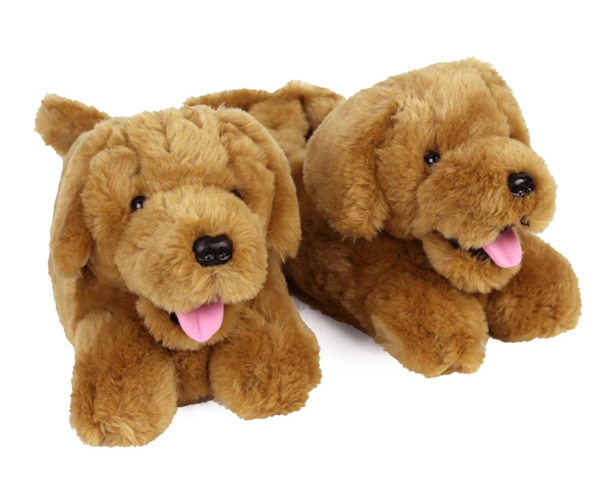 Golden Retriever Slippers In 2020 Smart Dog Toys Dog Toys