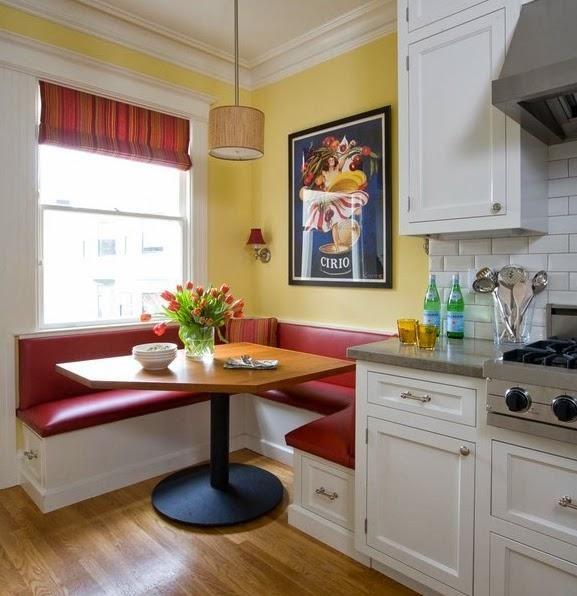 modern kitchen booth more - Kitchen Booths