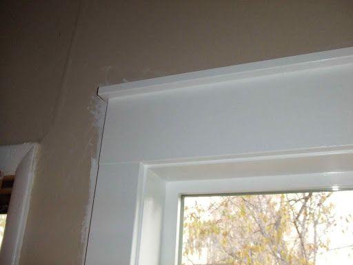 interior door trim options | ... left corner window trim ideas ...