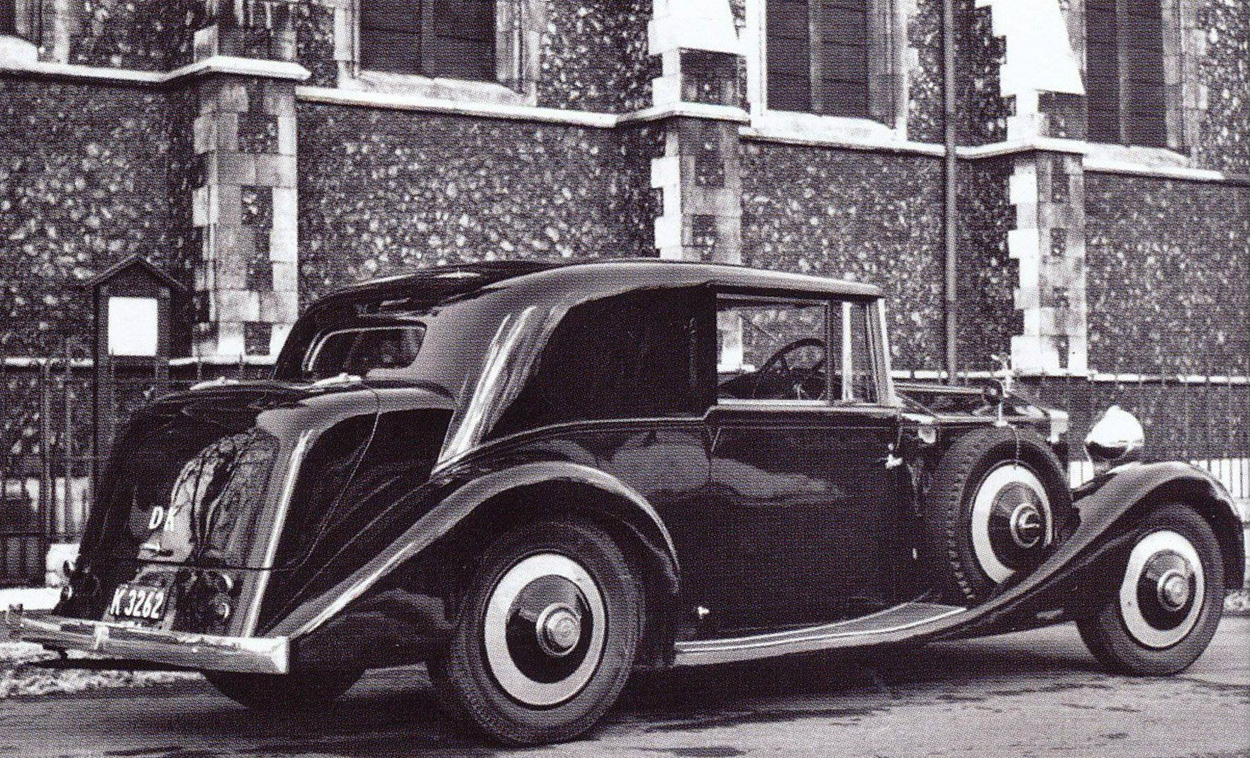 Chassis GXO110 Two-door Saloon by Hibbard & Darrin | Classic rolls ...