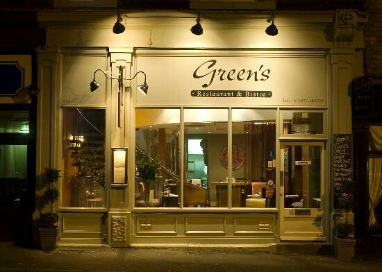 Greens great place for something to eat