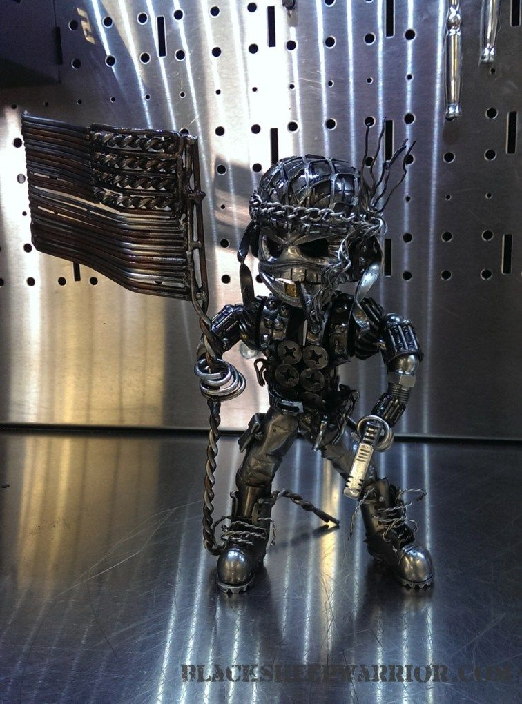 Piston Head Army Continues To Impress   Welding art, Metal ...