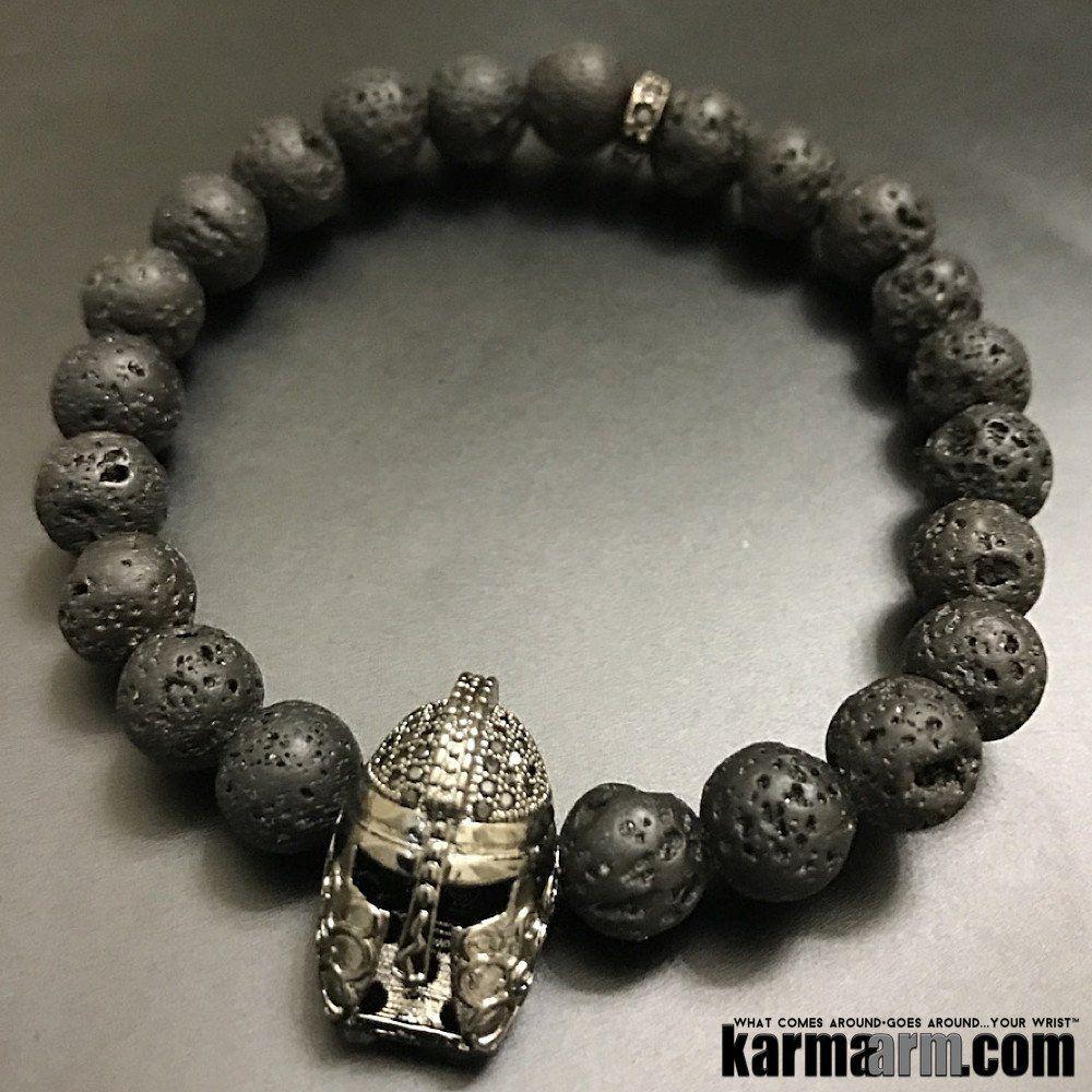 Fearless Lava Skull Bracelet