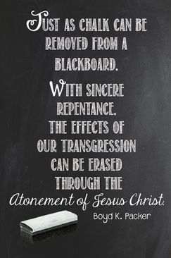 YW March Lesson #1. The Atonement. Power Point & Handout