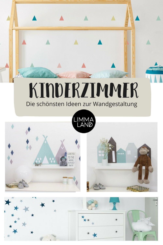 Wie Gestalte Ich Schöne Wände Im Kinderzimmer Ganz Einfach Mit