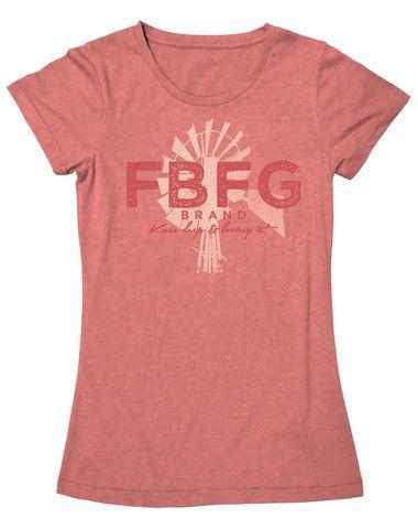 Farm Girl FBFG Widmill Tee