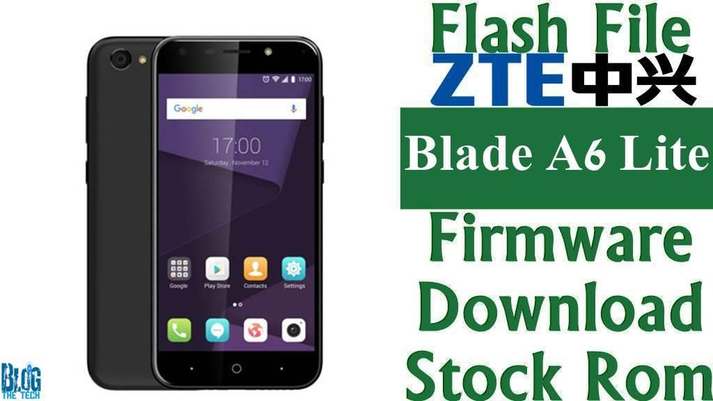 Flash File] ZTE Blade A6 Lite Firmware Download [Stock Rom