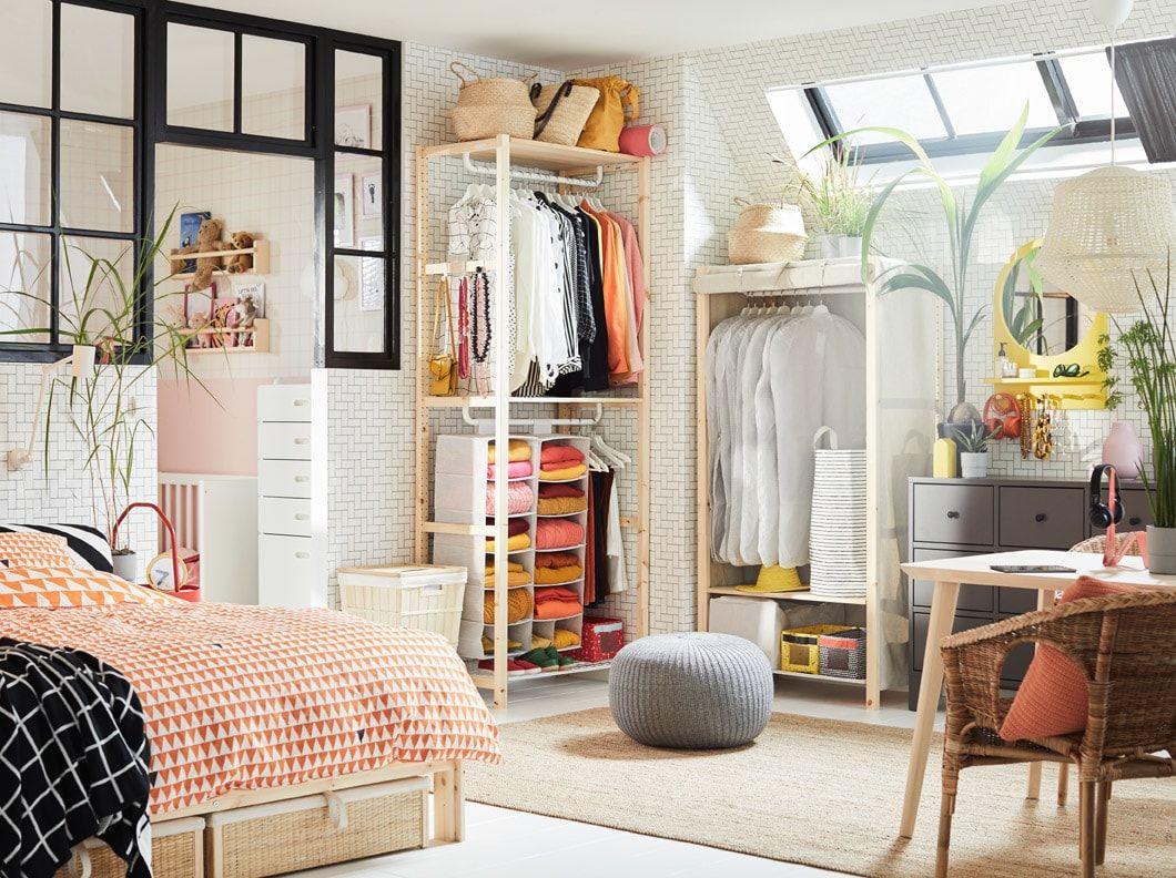 Bedroom Gallery   Home furnishings, Ikea, Small space bedroom