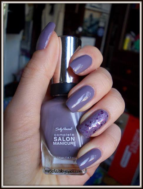 sally hansen complete salon manicure greige gardens nail polish lakiery żelowe indigo proste paznokcie walentynkowe