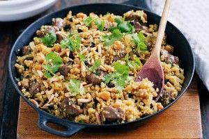A través de unos sencillos pasos podrás preparar un delicioso cuscús.