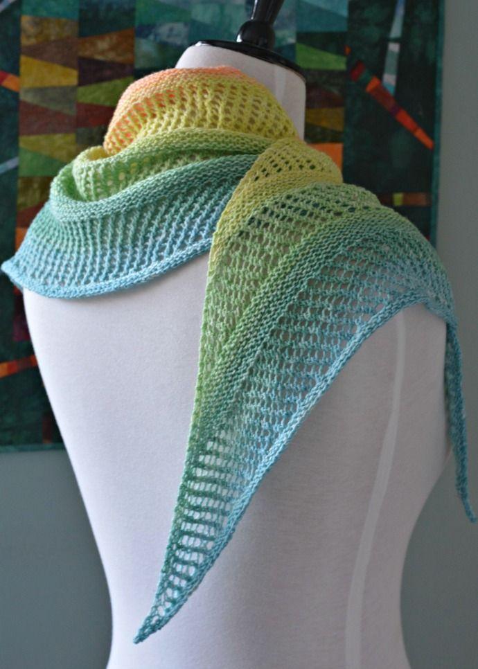 Reyna Shawl designed by Noora Backlund | knitting ...
