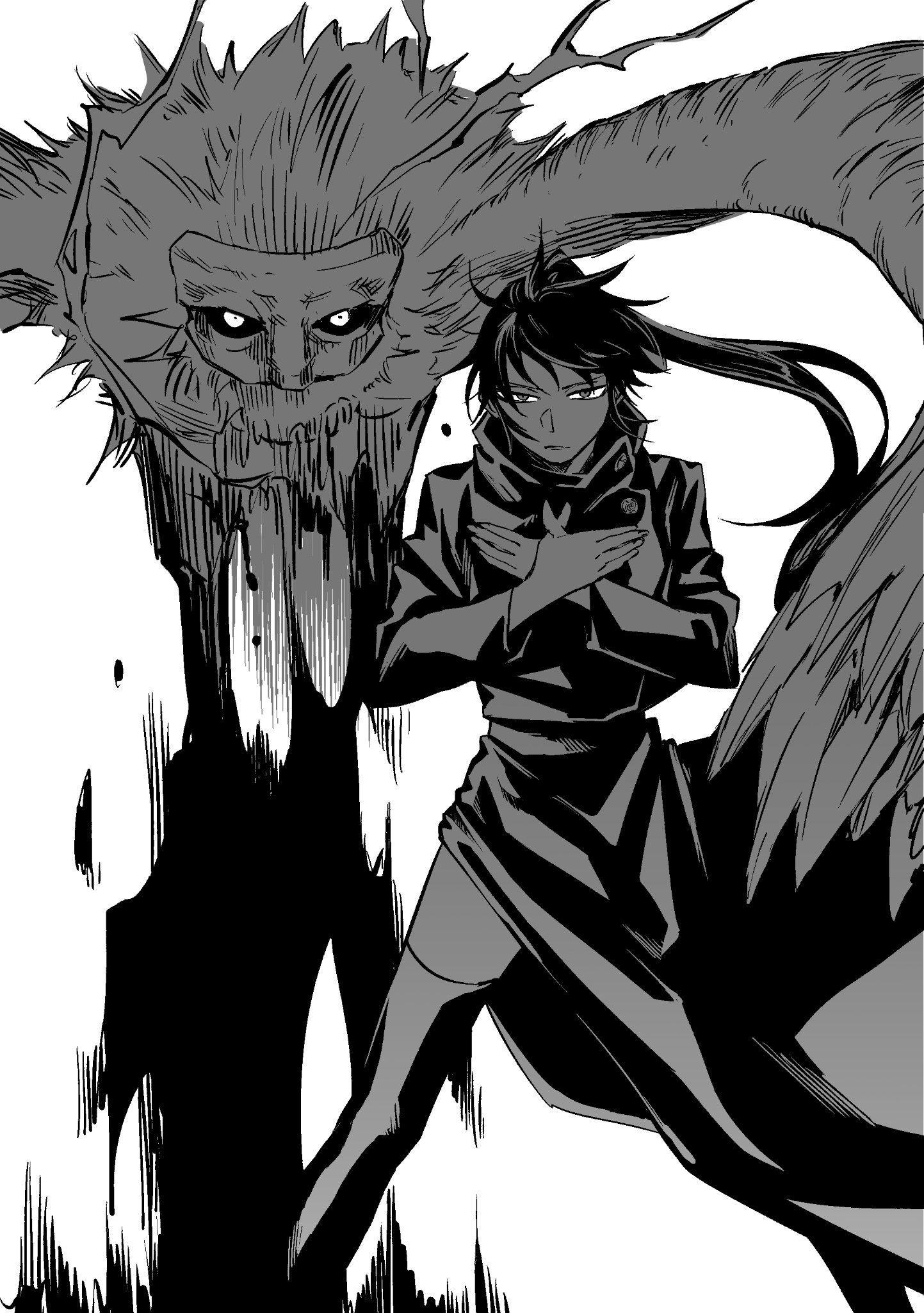 永流☀ on Twitter in 2020 Jujutsu, 2d art, Manga art
