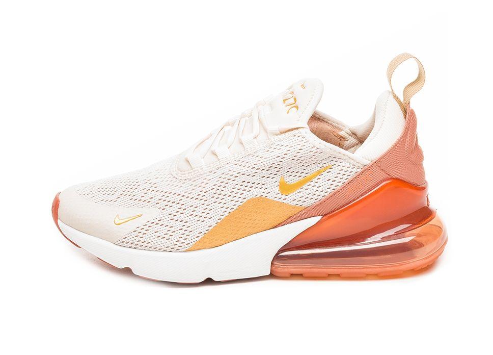 Nike W Air Max 270 Light Cream Metallic Gold Terra Blush