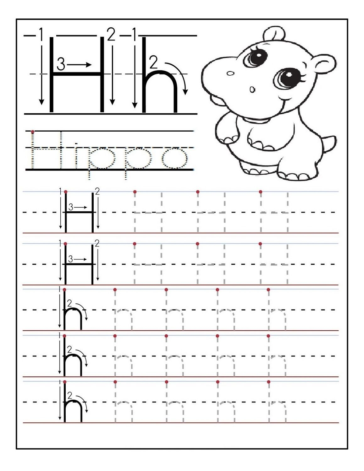 Traceable Letter Worksheets Kids Learning Activity Alphabet Worksheets Preschool Tracing Worksheets Preschool Preschool Letters
