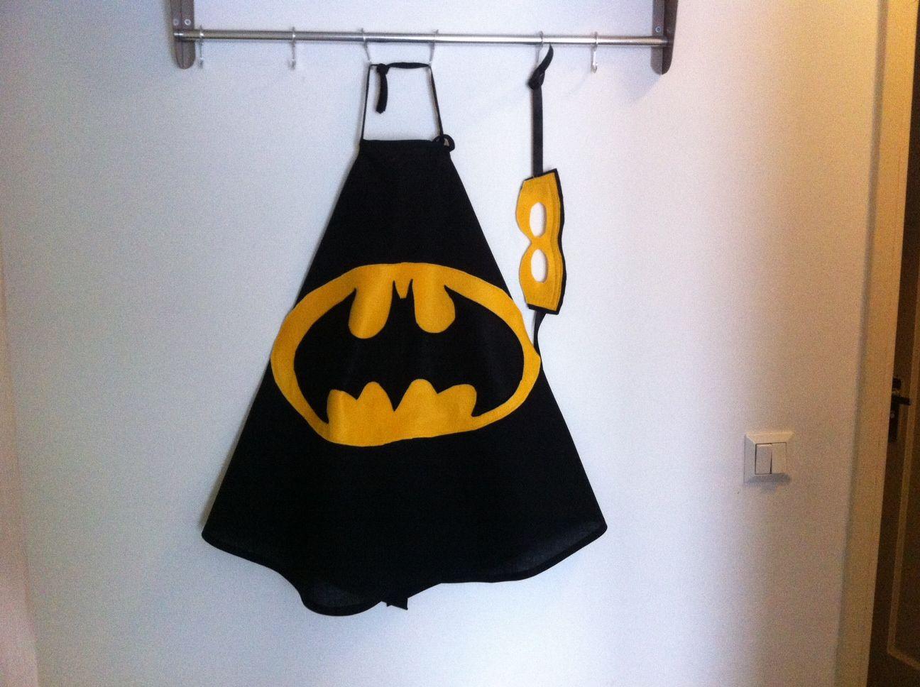 Batman cape met masker