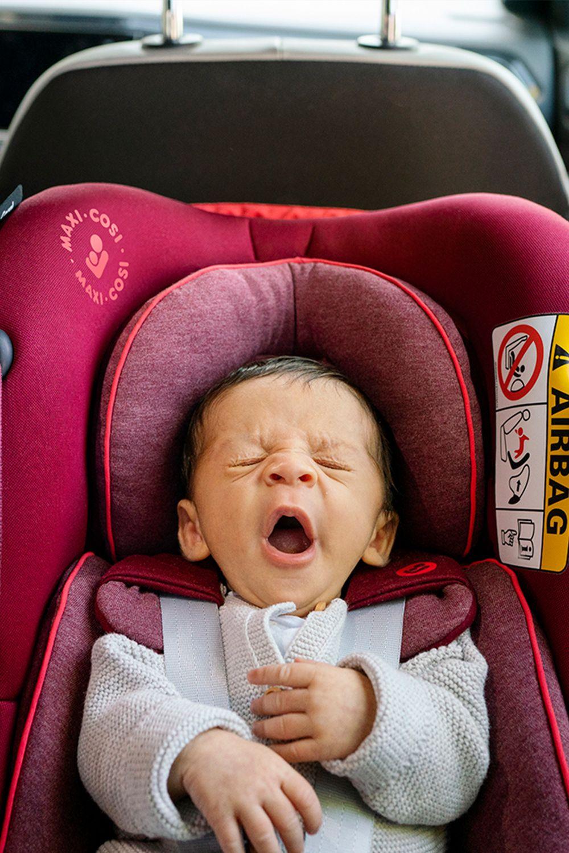You can sleep tight little boy! MaxiCosi already safely