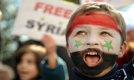 Syrian Revolution Immigration Blog Syrian Children Face