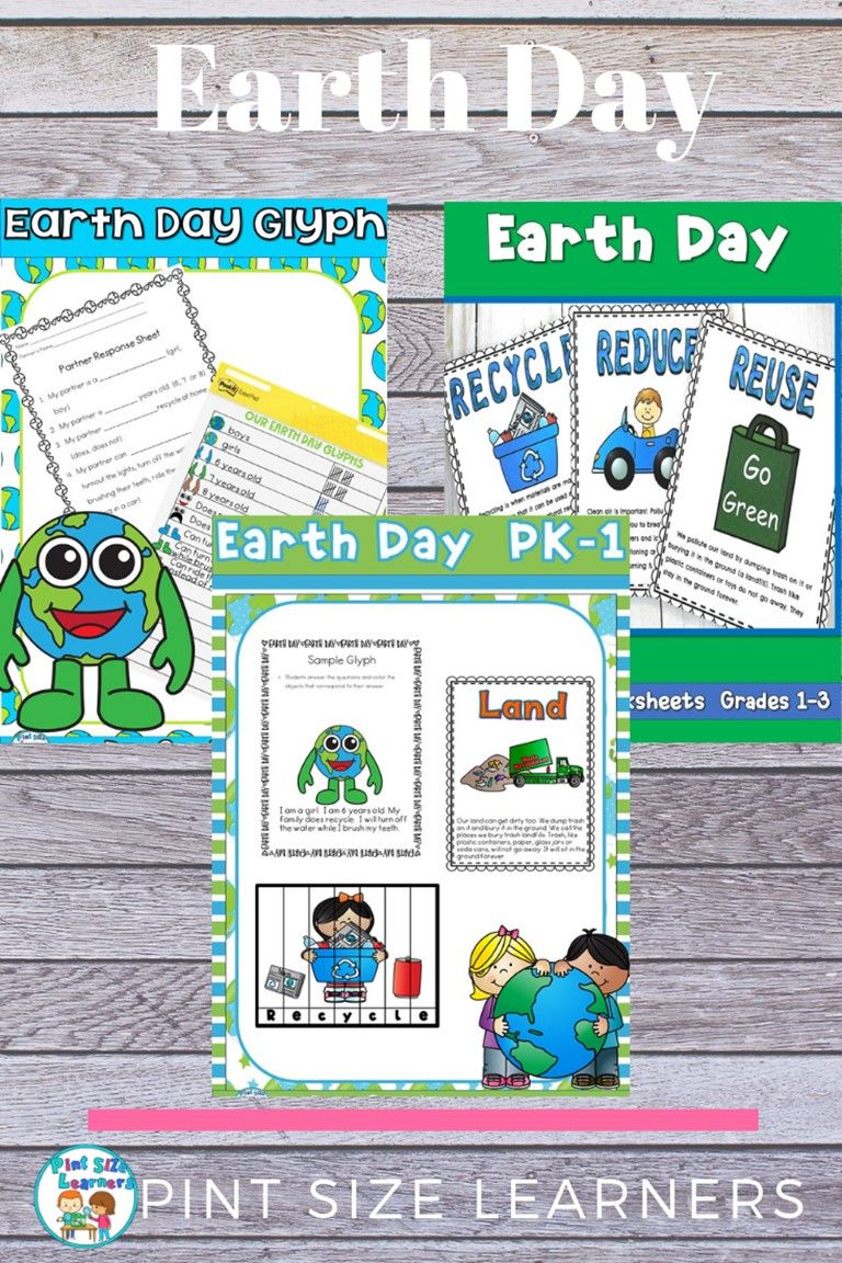 Do You Need Some Awesome Earth Day Center Activities And Worksheets For Your Preschool Through Th Pint Size Learners Blends Activities Literacy Center Activity [ 1152 x 768 Pixel ]