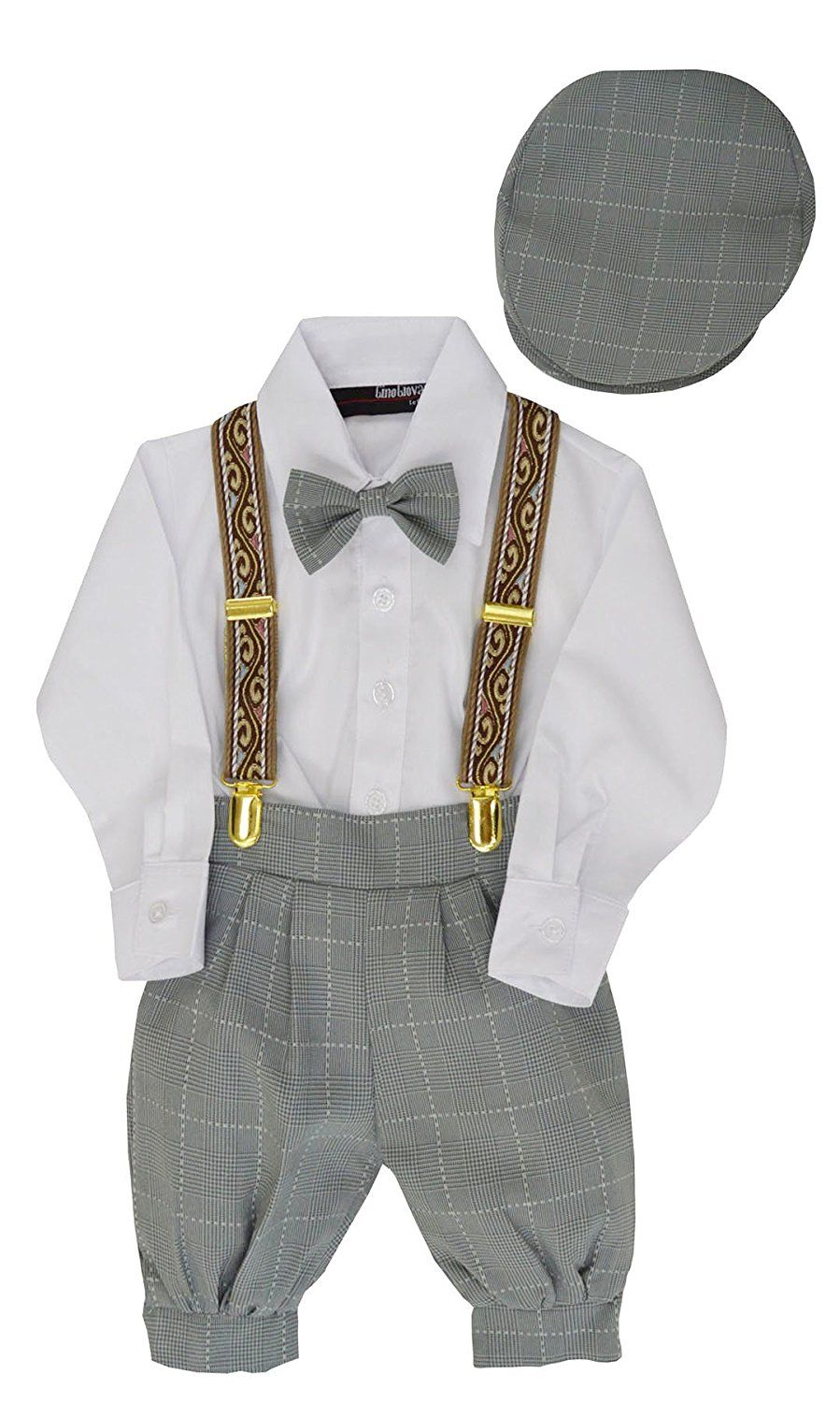 8dd4de5aa 1920s Children Fashions: Girls, Boys, Baby Costumes Gino Giovanni Boys  Vintage Style Knickers Outfit Suspenders Set $29.99 AT vintagedancer.com