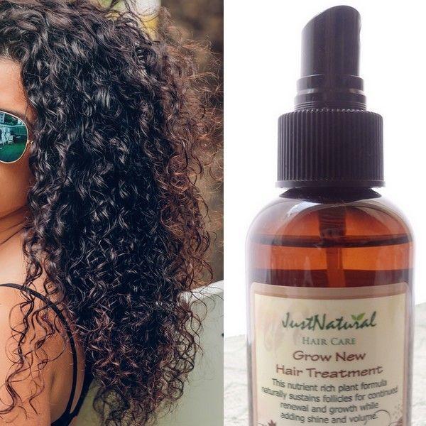 Grow New Hair Treatment Hair Treatment Natural Hair Styles Curly Hair Styles