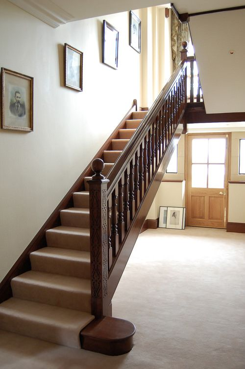 Best Period Style Mahogany Staircase Staircase Interior 400 x 300