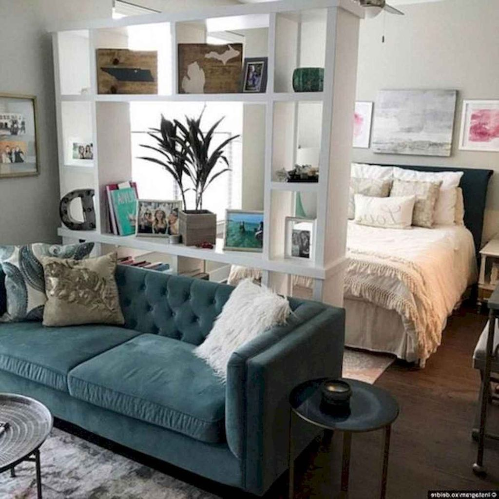 1 Bedroom Apartment Cheap: 30 Inexpensive Studio Apartment Decorating Ideas On A