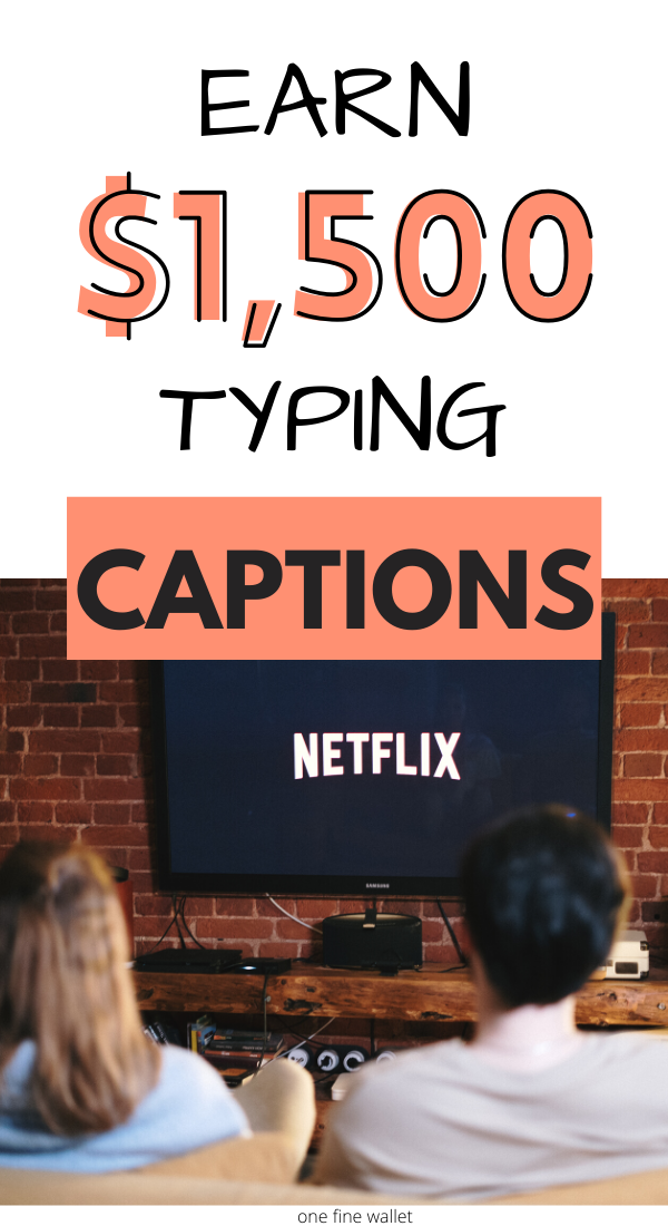Captioning Jobs - Make Money Captioning Videos at Home $1,500/mo