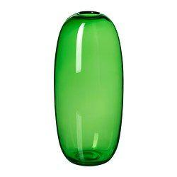 STOCKHOLM maljakko, vihreä Halkaisija: 18 cm Korkeus: 40 cm
