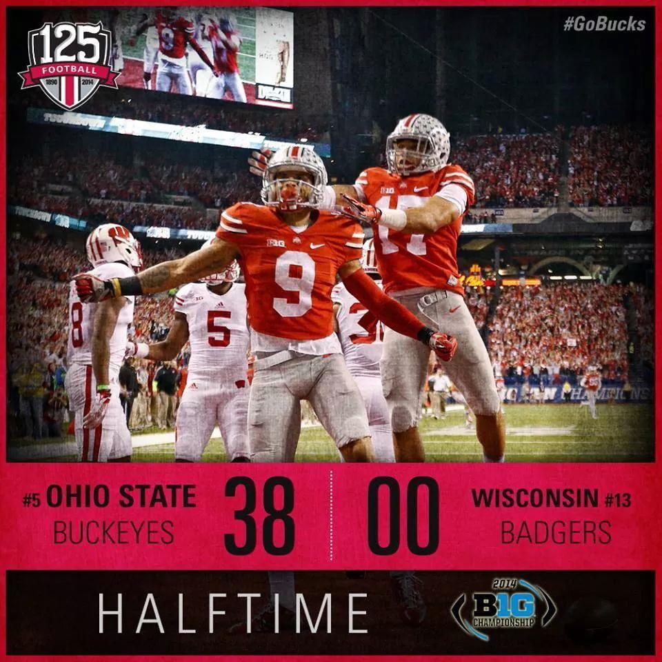 38-0 Halftime OSU