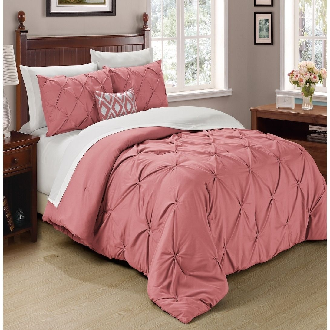 Copper Grove Tithonia 3 Piece Pintuck Comforter Set Comforter
