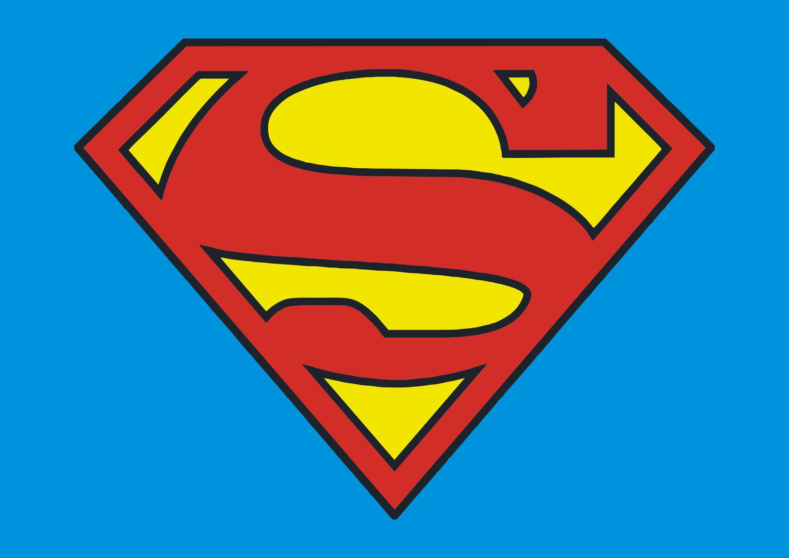 Logo Superman Vector Free Logo Vector Download
