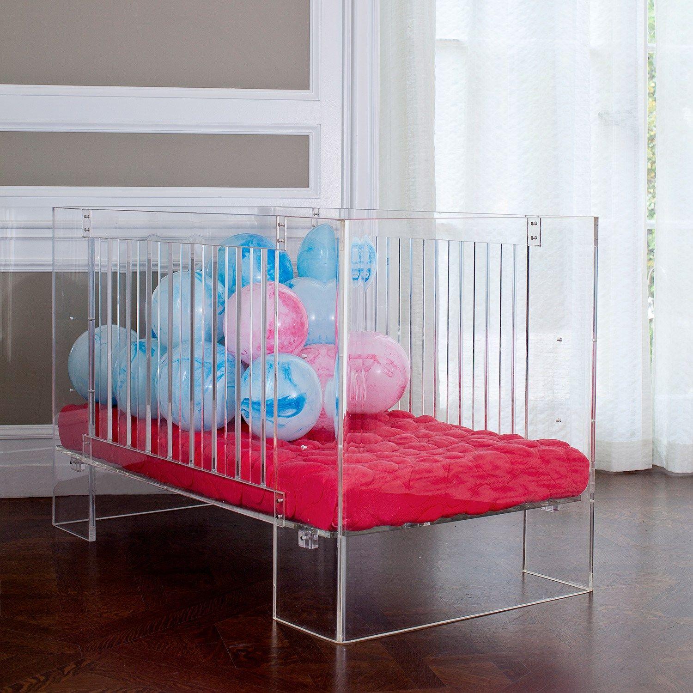 Nurseryworks Vetro Crib Modern Style In Lucite Baby Furniture