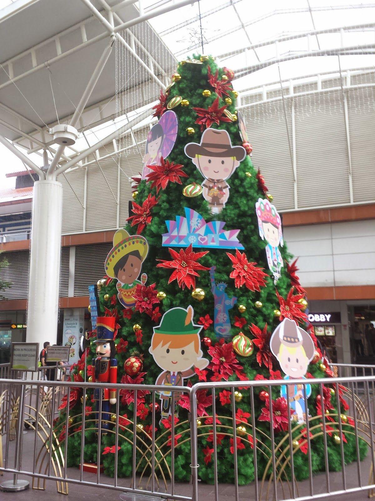 Somewhere In Singapore Blog Christmas Decorations Christmas Decorations Christmas Tree Decorations Creative Christmas