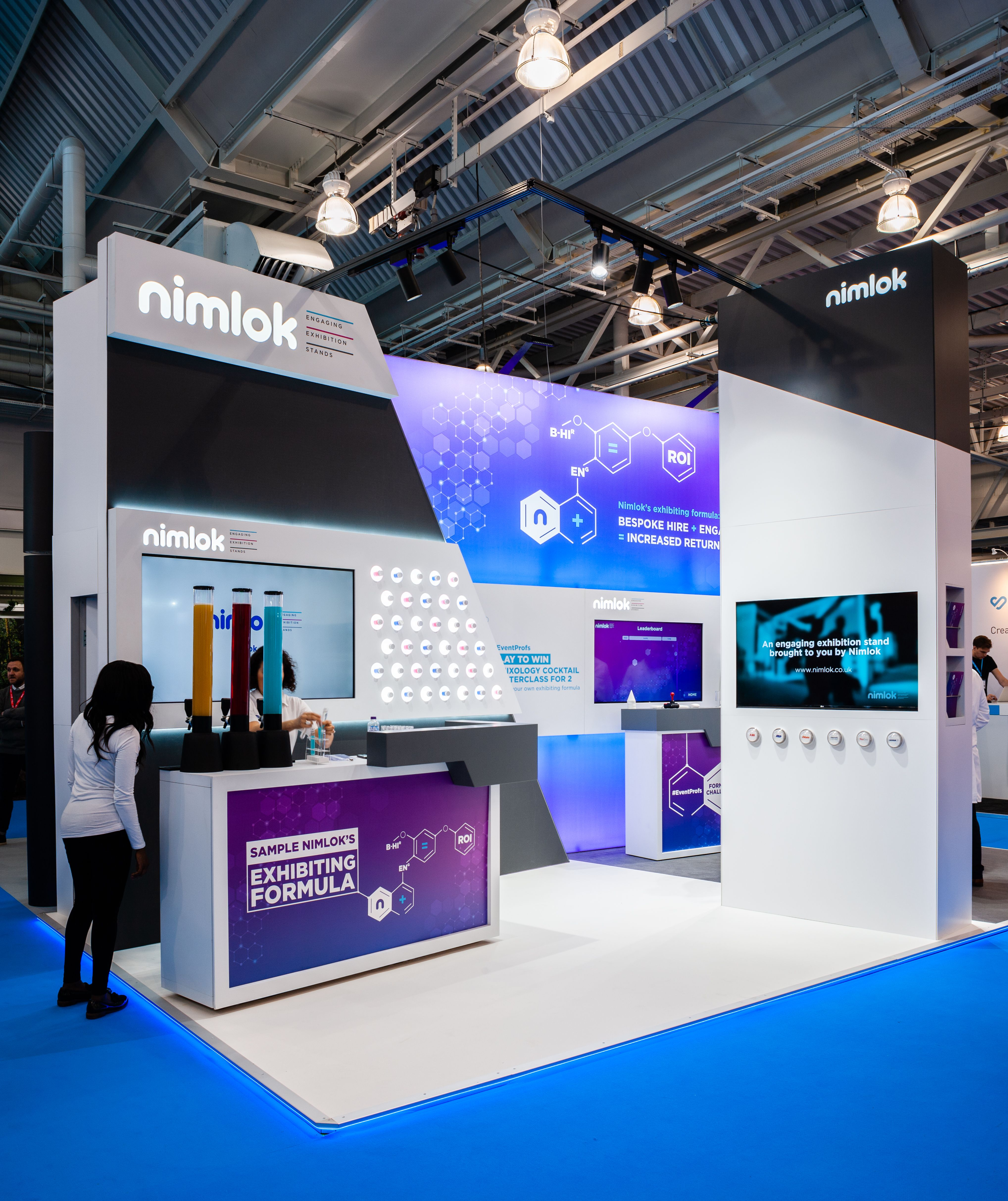 Marketing Ideas For Exhibition Stand : The nimlok laboratory featured at marketing week live where we