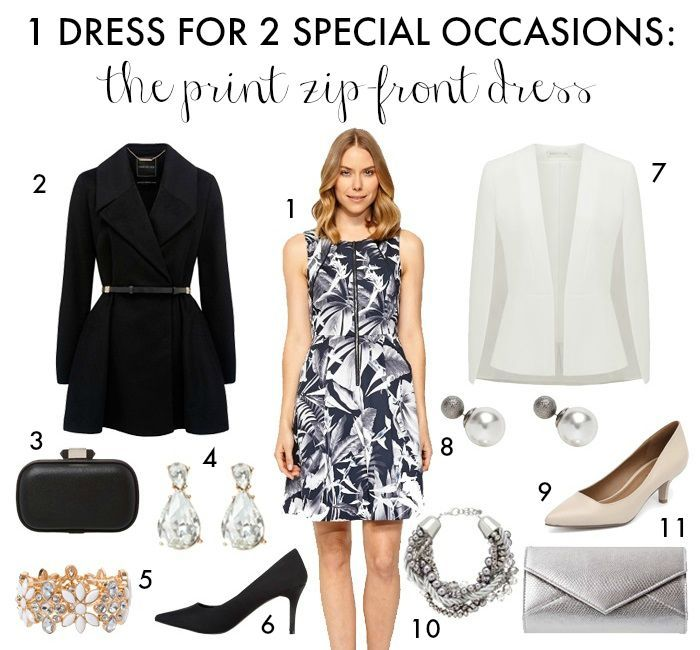 How to Style 1 Dress for 2 Special Occasions - Sonia Styling
