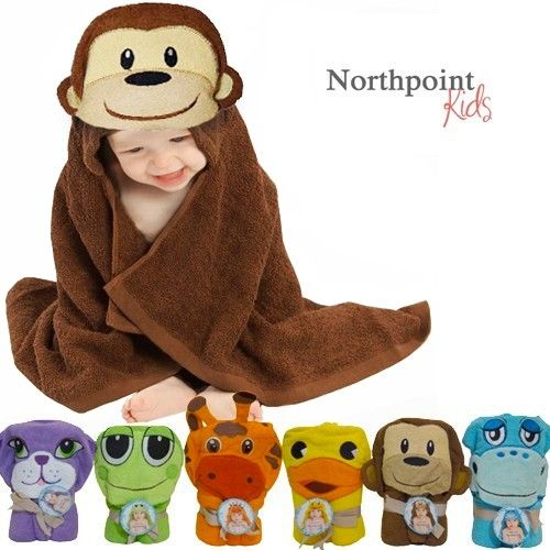 Save 80% On Northpoint kids Cotton Animal Towels At $7.99   Shop Now :- http://bit.ly/1V0UESR