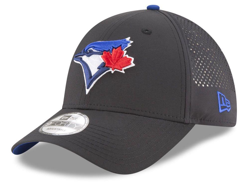 4980ebfd8481b7 Toronto Blue Jays The League 9FORTY Adjustable Game Cap | hats | Toronto  blue jays, Baseball hats, Hats