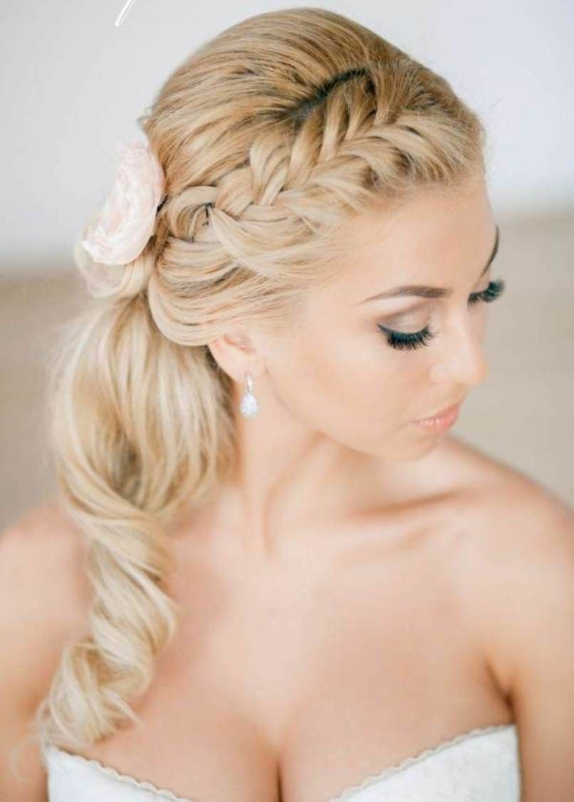 2015 prom hairstyles | hairstyles with curls and braids