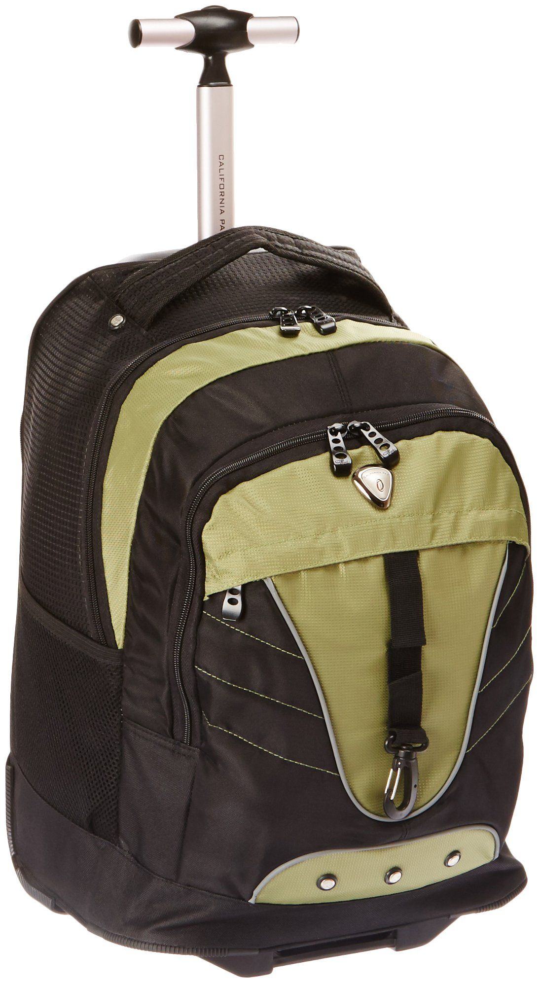 5aadb3bfe CalPak Night Vision Olive 18-inch Rolling Multi-compartment Backpack ...