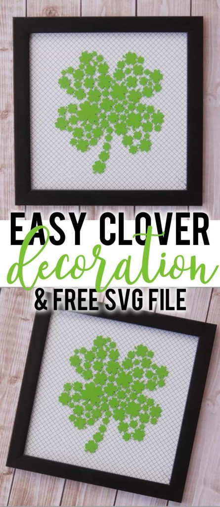 Download Easy St. Patrick's Day Decoration & Free SVG File | Diy ...