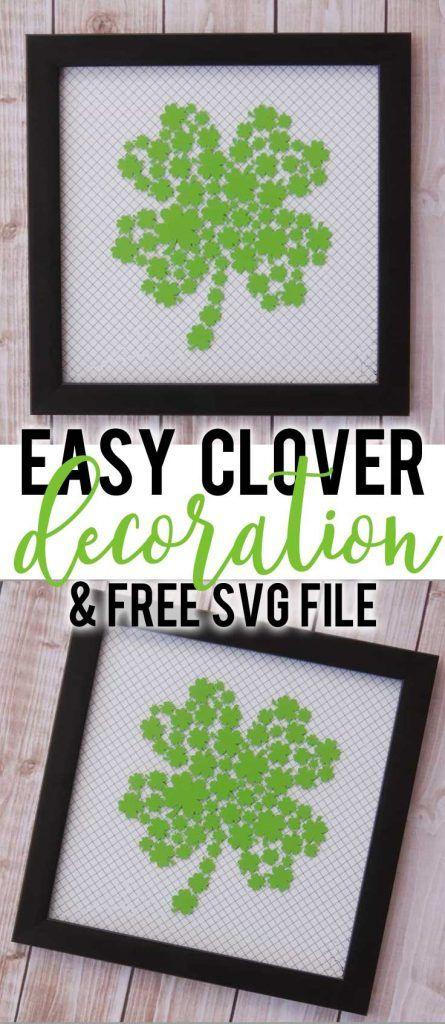 Download Easy St. Patrick's Day Decoration & Free SVG File | Diy ...
