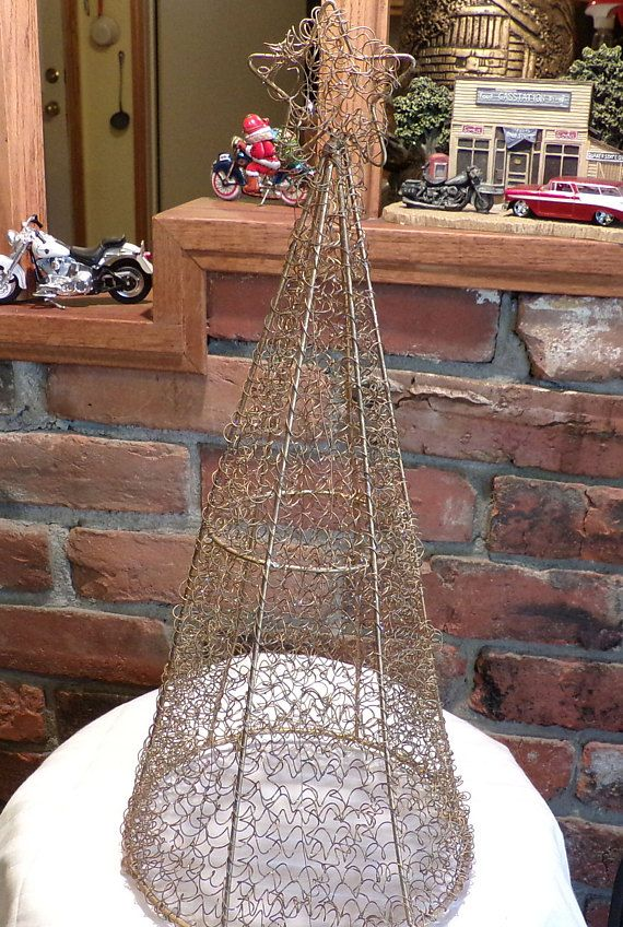 gold wire christmas tree christmas tree frame gold spun wire tree gold tree